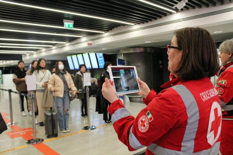 Controlli aeroporto Coronavirus